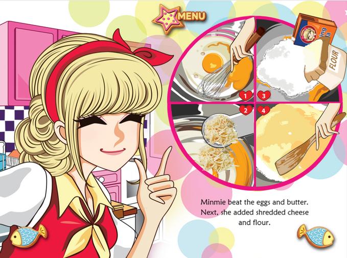 Minmies Pastries Game Anak Perempuan Memasak Interaktif Dan