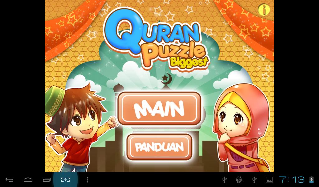 Game Anak Muslim Edukatif Untuk Menghafal Al Quran Map